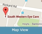 South Western Eye Care Map View